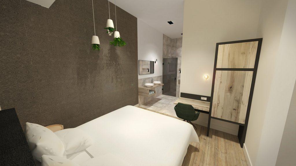 Badkamer Slaapkamer Ineen : Slaapkamer en badkamer ineen. cheap awesome kleine badkamer en